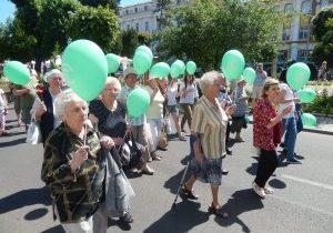 Romania elderly international day of older people